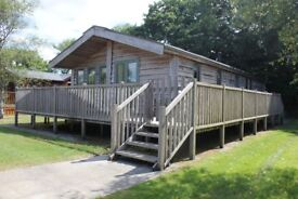 Luxury 2 Bed Siberian Larch Lodge