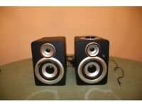 Acoustic Solutions black wooden speaker/docking station - Excellent condition