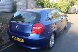 ELECTRIC BLUE BMW 1 SERIES FOR SALE PERFECT CONDITION INSIDE & OUT