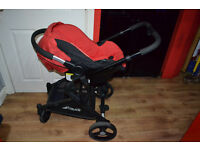 Hauck colt 3 in 1 travel system and puschchair