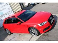 2013 AUDI A3 2.0 TDI S LINE 148BHP 5DR HATCHBACK !BLACK EDITION SPEC! ( FINANCE & WARRANTY AVAILABLE