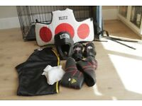 Collection Of Kickboxing Equipment