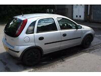 VAUXHALL CORSA 1.0 LITRE 2004 LOOKING FOR QUICK SALE LOW MILEAGE 77000 MILES £295 O.N.O