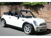 Superb Mini Convertible, Electric Roof, Long MOT and Full Service History, 2 careful lady owners