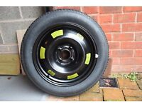 """CITROEN C4 NEW 16"""" SPACESAVER SPARE WHEEL AND TYRE. BALANCED"""