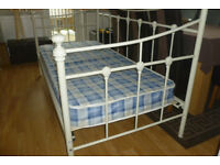 beautiful metal day bed and mattress