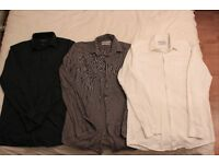 3x Cedar Wood state formal shirts all size 15.5