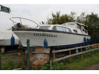 Senior 32 Cabin Crusier Liveaboard Project Boat