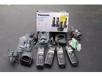 Panasonic Quad Digital Cordless Phone KX-TG1614