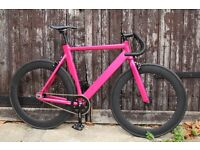 Special Offer Aluminium Alloy Frame Single speed road bike fixed gear racing fixie bicycle f3d