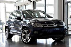 2013 Volkswagen Tiguan Highline R-LINE / CUIR BEIGE + 0% / 48 MO