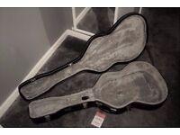 Hard Black Stagg Guitar Case