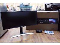 "Samsung SE790 34"" Curved WQHD Widescreen Ultrawide 21:9 Monitor"
