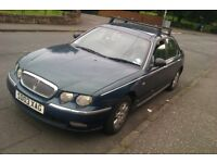 ROVER 75 03 PLATE 1.8 PETROL ONLY 48,000 MILES FULL MOT HAD HEAD AND TIMING BELT DONE £895 ONO