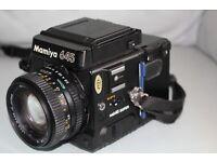 Mamiya 645 Medium Format Camera