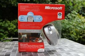 ***Microsoft Wireless Optical Mouse 5000 (BRAND NEW IN BOX)***