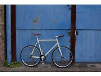NEW IN!! Sale!!! Steel Frame Single speed road bike fixed gear racing fixie bicycle