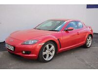 2008 Mazda RX-8 230bhp,One Former Owner,One year mot,Showroom condition like new