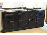 Electric 4 oven AGA with module. Dark blue. Mint condition with AIMS. Photos to follow soon.