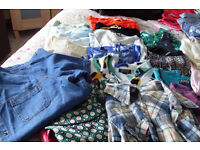 joblot of mens and ladies clothes