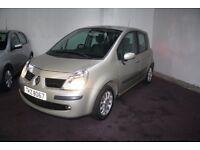 Renault Modus 2007 Low millage (1 months warranty) Cheap cars