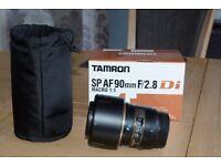 Tamron SP AF 90mm f/2.8 Di Macro i.i Nikon fit