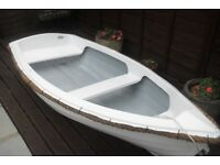GRP DINGHY 8' with wheels!