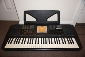 Yamaha PSR-530 Electronic Keyboard with Rare Bonus Cartridge & Power Supply MIDI