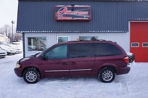 2002 Chrysler Town & Country Limited 3.8L FULL EQUIPÉ AVEC 225 3