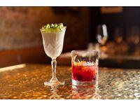 Bartender - Gymkhana, Mayfair. Up to £9.50ph and Sundays OFF