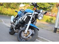 Suzuki SV650 Long M.O.T Naked