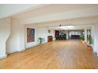 Warehouse venue hire, Xmas party venue London, meeting space, funky space to hire