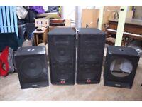 Wharfedale EVP-S15 PA Speakers