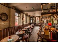 NEW - £9 per hour for Floor & Bar team members at The Mall Tavern, Notting Hill
