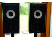 Mission 700 speakers including Gale speaker stands, in perfect condition