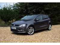 Volkswagen Polo 1.4 TDI BlueMotion Tech SEL 5dr | FULL SERVICE HISTORY AND 11 MONTHS MOT INCLUDED