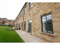 One bedroom duplex apartment in Ossett, close to motorways and amenities, mill converstion