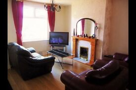 2 Double ROOMS, Inc all bills, wifi, TV, £375pm rent per room. 4 bed house share.