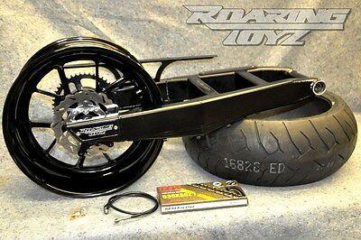 Kawasaki ZX14 ZX14R 2006-2018 240 Wide Tire Swingarm Stocker Wheel Kit Complete