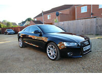 Audi A5 3.0 TDI Quattro sport, 6 speed manual, Fully loaded, Full audi service history, mint cond.