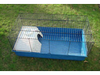 Animal cage - Guinea pig/Rabbit - 97cm x 50cm / 36 x 20 inches