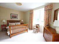 Glazed Chintz Curtains 2 large pairs
