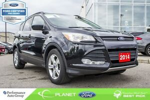 2014 Ford Escape SE FORD CERTIFIED LOW RATES & EXTRA WARRANTY