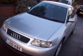 Audi a3 1.9 tdi sport 130 bhp 5 door hatchback 2002 spares or repairs starts and drives