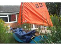 12ft mirror sailing dinghy