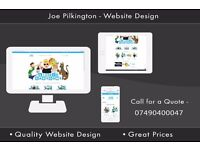 Freelance Web Designer| Affordable and Modern