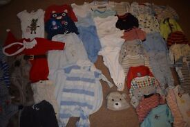 6-9 months boys clothes bundle (41 items)