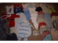 6-9 months boys clothes bundle (41 items)