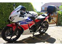 Honda CBR300R motorbike
