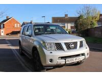 2006 Nissan Pathfinder 2.5 diesel auto Long Mot, Service history, hpi clear, 7 seater, drives well
